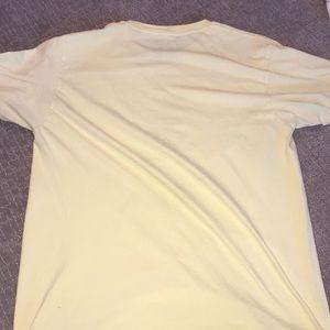 Columbia Shirts - Light Yellow Columbia T-Shirt, Size Medium